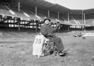 Roy Campanella Saying Goodbye to Ebbets Field