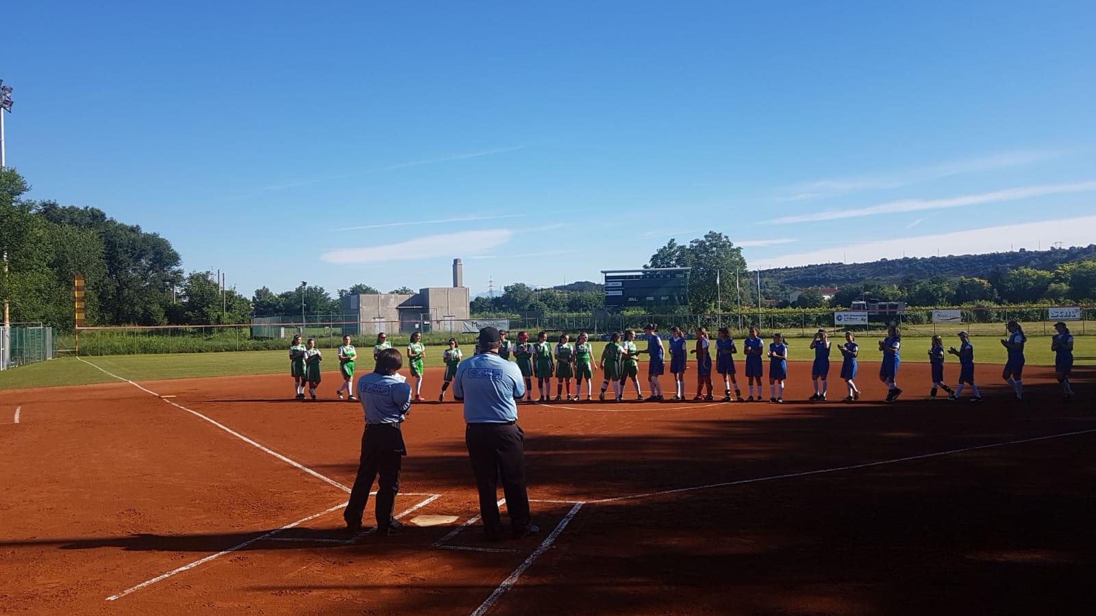 saluto softball torneo regioni